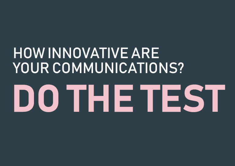 How Innovative are your Communications?
